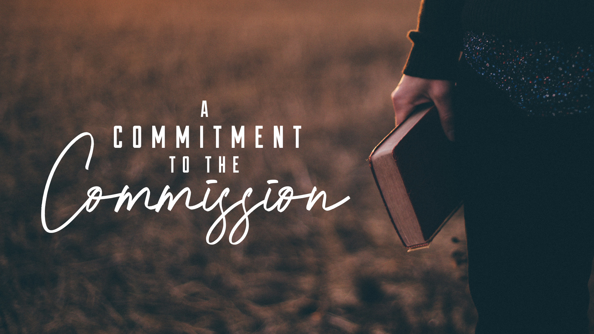 A Commitment to the Commission