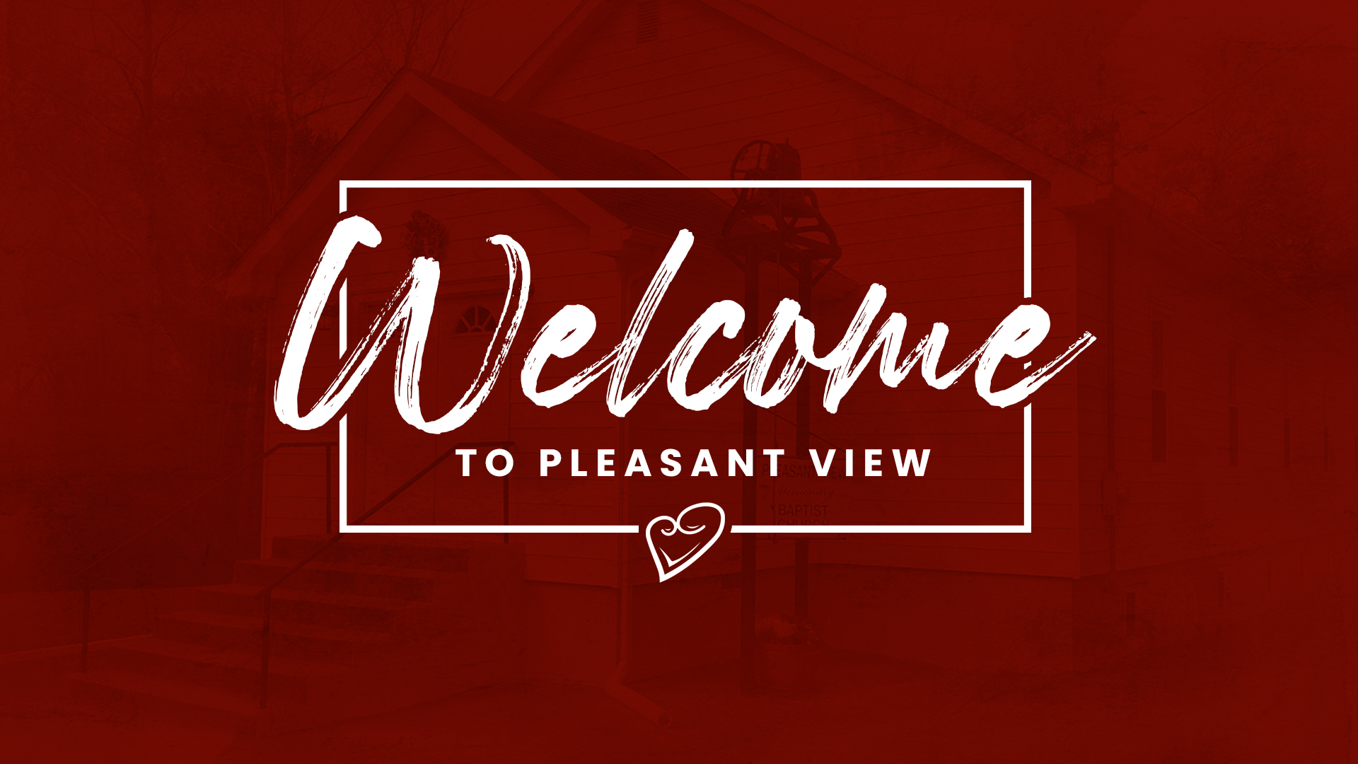 Welcome to Pleasant View!
